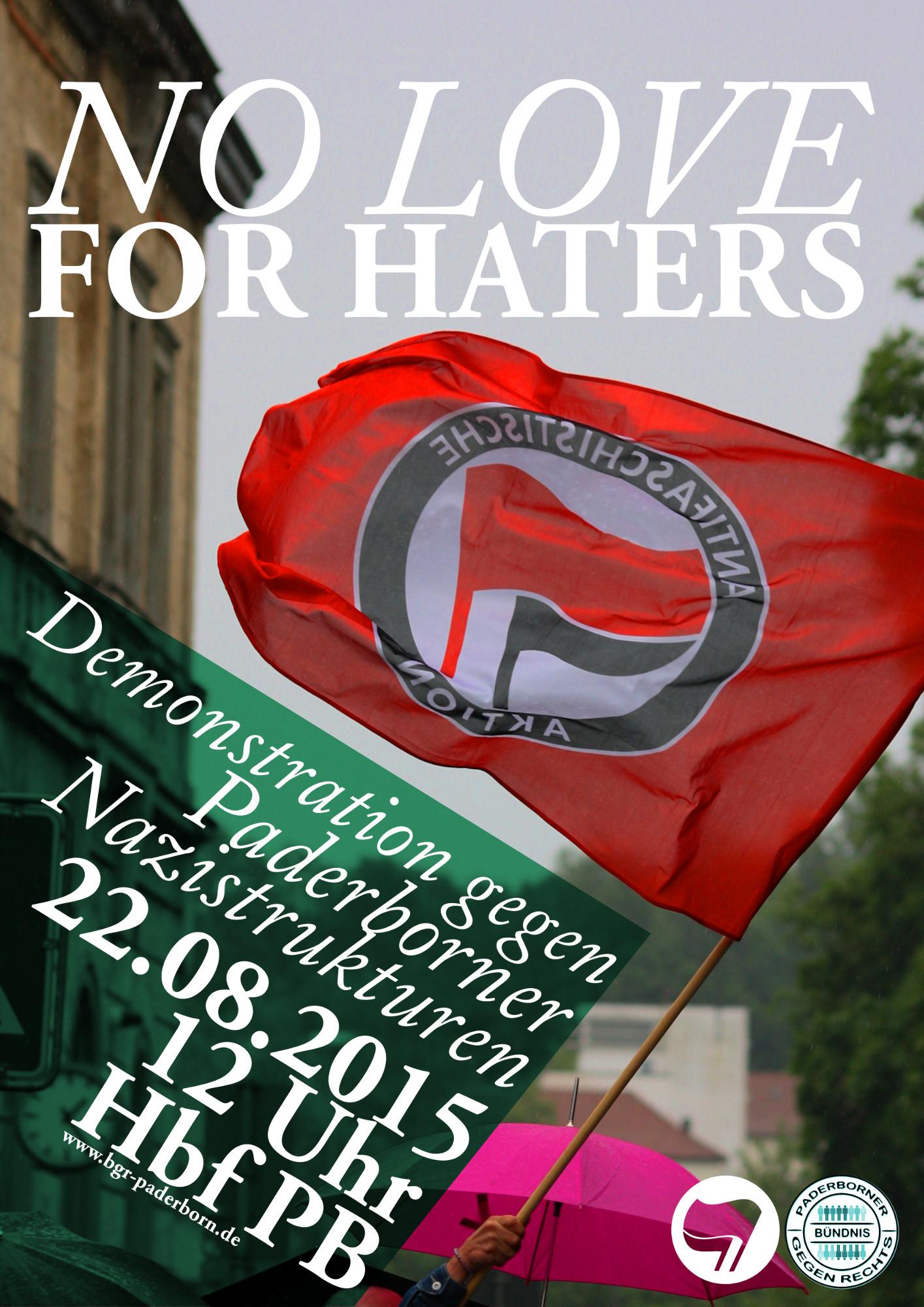 Demo gegen Nazis in Paderborn